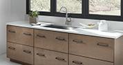 Mid-Century Modern Kitchen | Quartz in Lyra
