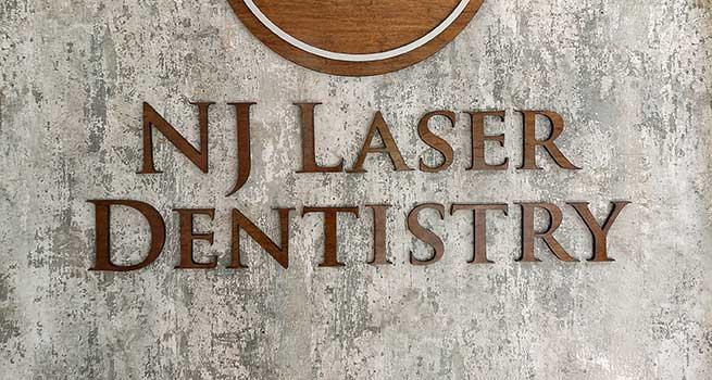 NJ Laser Dentistry | Lobby Wall