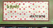 Island Pacific Supermarket | Healthy Eating Sign