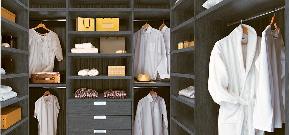Residential Closet | Wilsonart HPL, TFL, & Edgebanding