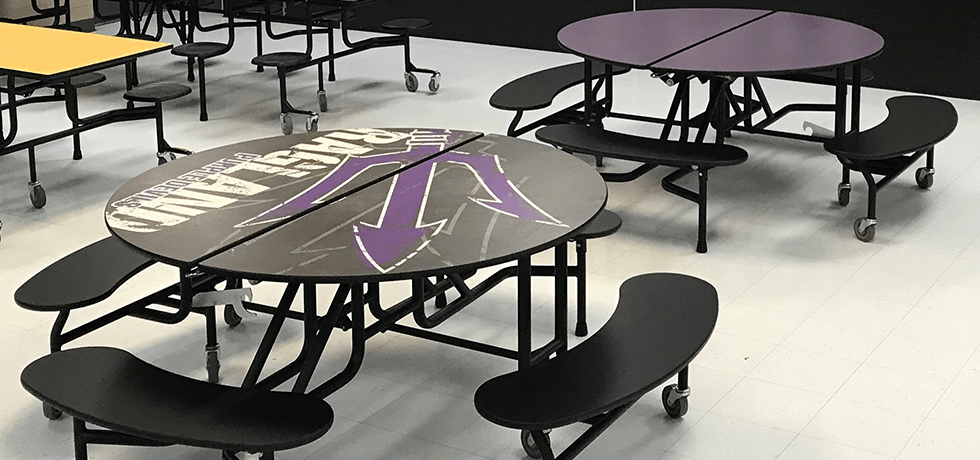 School Spirit Study Tables | Wilsonart By You
