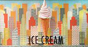 Island Pacific Supermarket | Ice Cream Sign