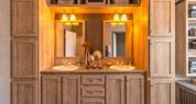 Palm Harbor Home - Ink Vesta Bath Countertop