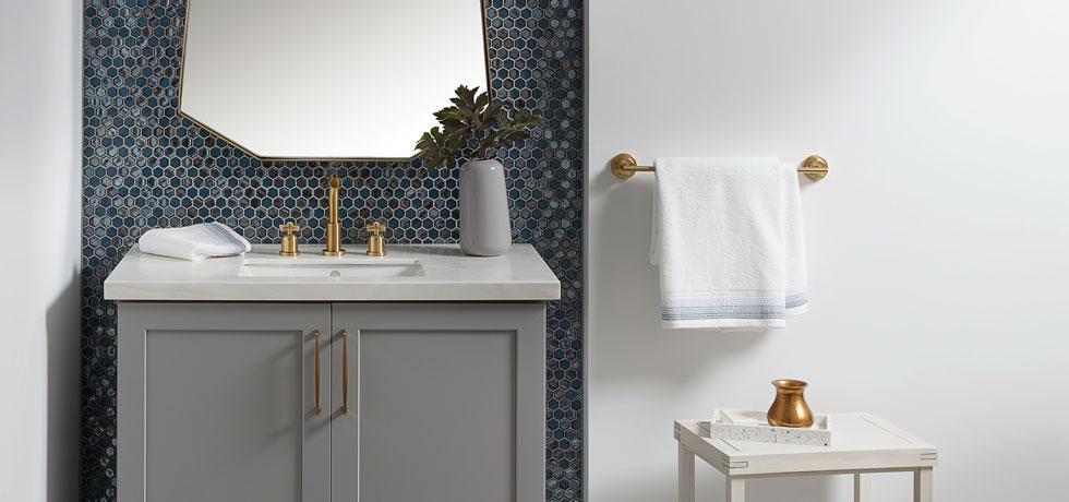 Solid Surface | Gulfcoast Single Vanity Countertop