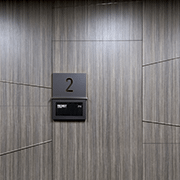Contemporary Office | High Pressure Laminate in Studio Teak