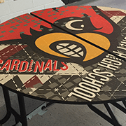 Cardinal Pride Study Table | Wilsonart By You