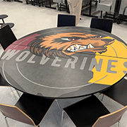 Mascot Inspired Lunch Table | Wilsonart By You