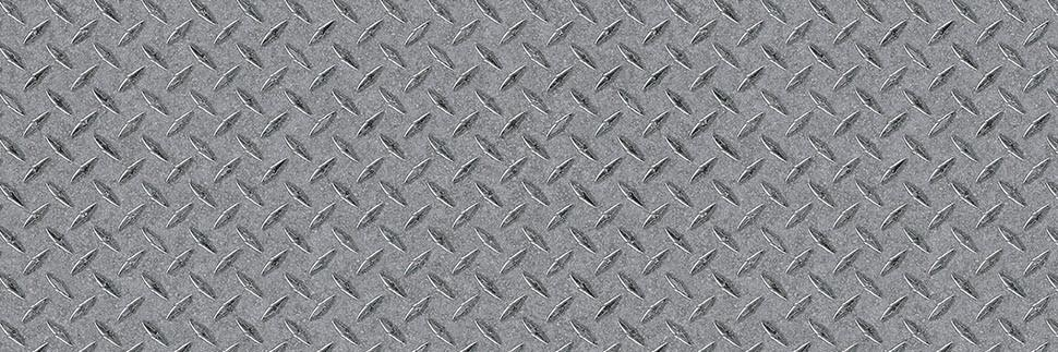 Zinc Diamond Plate Y0541 Laminate Countertops