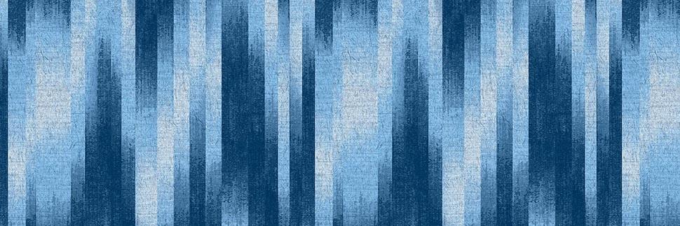 Baltic Blue Ikat Y0564 Laminate Countertops