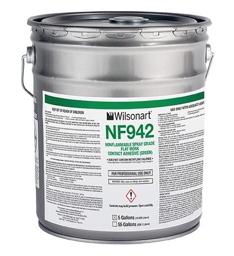 WILSONART® NF942/943 NONFLAMMABLE SPRAY-GRADE CONTACT ADHESIVE WA-NF942/943 Adhesive Countertops