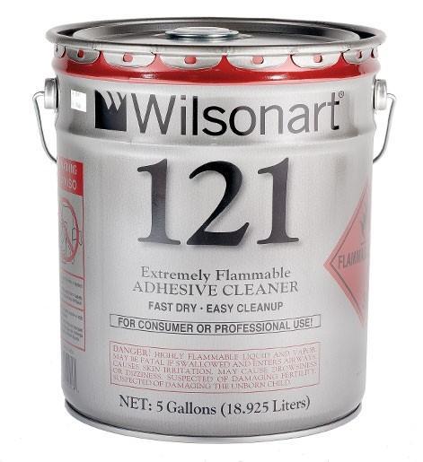 Wilsonart® 121 Adhesive Cleaner WA-121 Adhesive Countertops