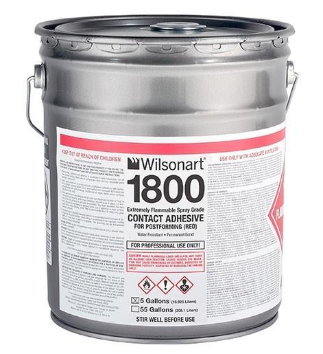 Wilsonart® 1800/1801 OTC Compliant Postforming Spray-Grade Contact Adhesive WA-1800/1801 Adhesive Countertops