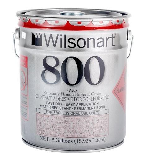 Wilsonart® 800/801 Postforming Spray Grade Contact Adhesive WA-800/801 Adhesive Countertops