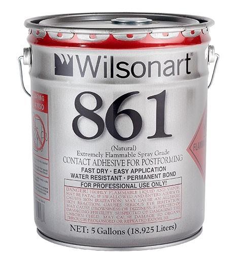 Wilsonart® 860/861 Postforming Spray Grade Contact Adhesive WA-860/861 Adhesive Countertops