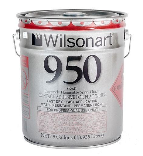 Wilsonart® 950/951 Flatwork Spray Grade Contact Adhesive WA-950/951 Adhesive Countertops