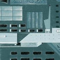 Metropolis (Landscape) Y0008X Laminate Countertops